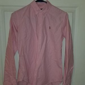 Size 6 Slim Fit Ralph Lauren Button Up